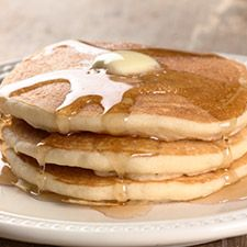 gluten-free, dairy-free pancakes or waffles