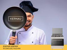 Zostań szefem swojej kuchni: www.kernau.com/kategoria/kuchnie-90-cm.html