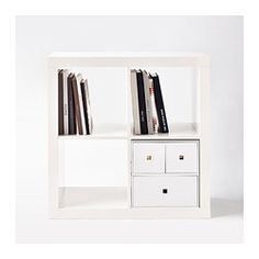 LEKMAN Mini storage chest - white - IKEA -Yea for Ikea!!  Drawers that you can just put in your expedit