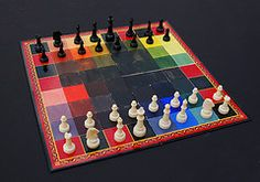 although, I'm nowhere near the genius level, I love to play the game, and I love beautiful chess boards!  I'd like to imagine myself making one of my own someday!