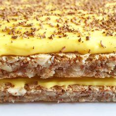 Sweets Cake, Cookie Desserts, No Bake Desserts, Cake Recipes, Dessert Recipes, Norwegian Food, Food Cakes, Yummy Drinks, No Bake Cake