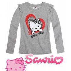 Детска блуза HELLO KITTY Sanrio, Hello Kitty, Graphic Sweatshirt, Sweatshirts, Sweaters, Fashion, Moda, Fashion Styles, Trainers