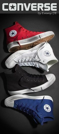 9637e2bec3a4 Brilliant Luxury ♢ Converse The New Chuck Taylor All Star II 2015 · Converse  ShoesConverse TrainersConverse StyleRed Converse MensConverse ...