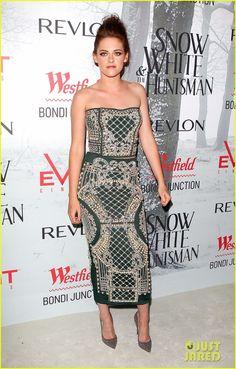 Kristen Stewart.  Balmain.