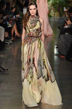 Elie Saab haute couture printemps-été 2015 #mode #fashion