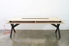 """Résultat de recherche d'images pour """"table coworking"""""""