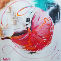 Flamenco flame - Peinture danseuse de flamenco ...