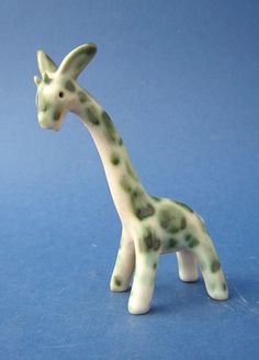 Denby Pottery, Giraffe, 1930's. I think these are really rare. I certainly haven't seen many. There probably weren't many made and they're obviously easily breakable.