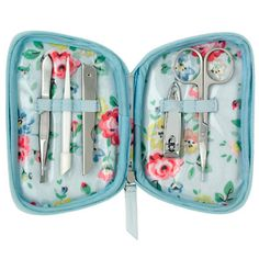 Latimer Rose Zip Manicure Set | Cath Kidston |