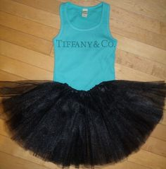 Tiffany & Company Inspired Rhinestone Tank and by blingcouture21, $38.00