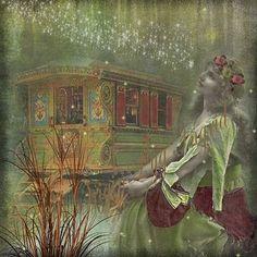 This is what my dreams look like. . .Caravan Gypsy Vardo Wagon:
