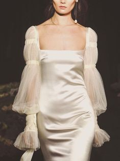 Romantic Silhouettes Gown designed by Danielle Frankel Studio inspo Runway Fashion, High Fashion, Womens Fashion, Style Fashion, Guy Fashion, Teen Fashion, Winter Fashion, Pretty Dresses, Beautiful Dresses