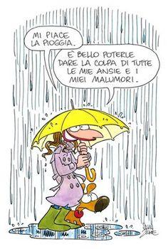 Silvia Ziche - E diamo la colpa alla pioggia allora!!!