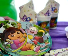 Decoração de Festa Dora, A Aventureira #dora #decoracao #decoration #party #festa #detalhes #details