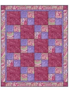 Sew Quick Downloadable 3 Yard Quilt Pattern