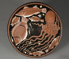 Paestan Fish-Plate, c. 340-330 BC South Italy, Paestum, 4th Century BC