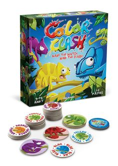 NEW Color Clash game from BlueOrange...looks like a lot of fun and a great brain workout!