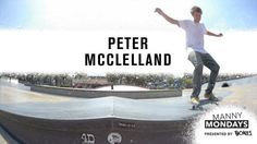Manny Mondays: Peter McClelland   TransWorld SKATEboarding - http://DAILYSKATETUBE.COM/manny-mondays-peter-mcclelland-transworld-skateboarding/ - Peter McClelland dishes out some smooth manual maneuvers at LA's Stoner Plaza for today's Manny Monday presented by Bones Wheels. Video / JOEFACE Follow TWS for the latest: Daily videos, photos and more: http://skateboarding.transworld.net/ Like TransWorld SKATEboarding on Facebook: htt - manny, McClelland, mondays, peter, skate