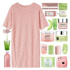 """♡ it's okay if you want to change the body that you came in"" by s-erene ❤ liked on Polyvore featuring Toast, Simple, Fujifilm, H&M, Root Candles, philosophy, Clinique, Rituals, Williams-Sonoma and Avon"