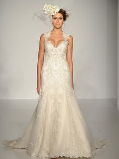 Sottero and Midgley lace mermaid wedding dress from Fall 2015