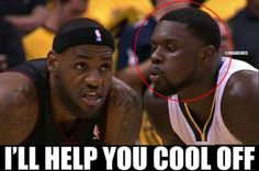 Lance Stephenson looking to help out LeBron James! Nba Memes, Sports Memes, Nba Funny, Funny Memes, Lance Stephenson, Martial Arts Training, Healthy Living Quotes, Movie Memes, Sport Body