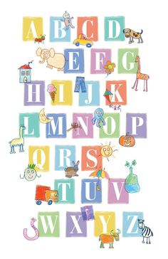 Alphabet Letters by 3cdKidStuff