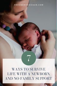 Family support can make all the difference when you're finally back home with your newborn, but for those who don't have it life can be seriously difficult. Here's how to cope when you're a new mom with no family support during those first few weeks and months postpartum. New Parents, New Moms, Baby Play, Baby Kids, Family Support, Preparing For Baby, Babies First Year, Baby Alive, Expecting Baby