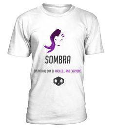 Overwatch Sombraa  #christmas #shirt #gift #ideas #photo #image #gift #october #overwatch