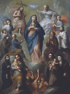 Miguel Cabrera - Virgen Dolorosa , ca.1760