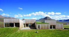Hof House, Iceland. I've always admired this country home designed by Studio Granada Architects.