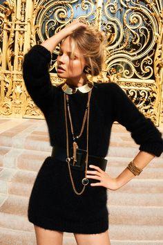 weneedfashion: Magdalena Frackowiak for the Miss Vogue...