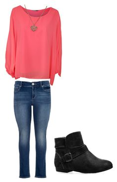 """""""Untitled #49"""" by potterhead-3280 ❤ liked on Polyvore featuring moda, WearAll, maurices ve Avenue"""