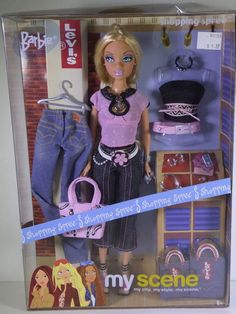 Shopping Spree - My Scene Wiki - Wikia Barbie Doll Set, Barbie 90s, Barbie Doll House, Barbie Dream, Barbie World, Childhood Toys, Childhood Memories, Pictures Of Barbie Dolls, Historical Women