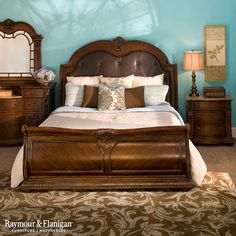 Pembrooke 4Pcking Bedroom Set  King Bedroom Furniture Delectable Raymour And Flanigan Bedroom Sets Review