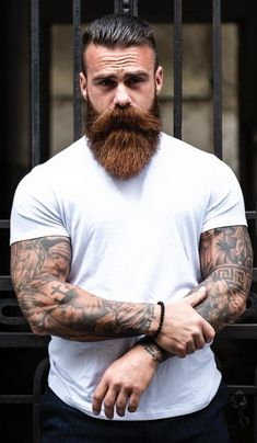 hair and beard styles Beard grooming is the most important element of growing a beard! Read on to understand what beard grooming means. Long Beard Styles, Beard Styles For Men, Hair And Beard Styles, Beards And Hair, Beard And Hairstyles, Viking Beard Styles, Hairstyle Men, Beards And Mustaches, Great Beards