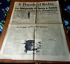BEST 1940 WW II ITALY newspapers IL POPOLO D'ITALIA -tragedy of the Allied armie - http://oddauctions.net/historical-newspapers/best-1940-ww-ii-italy-newspapers-il-popolo-ditalia-tragedy-of-the-allied-armie/