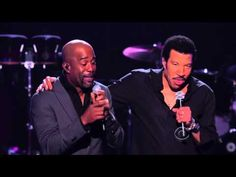 Stuck on You --- Lionel Richie and Darius Rucker - YouTube