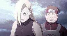 Yamanaka Ino and Akimichi Chouji Gif Naruto, Sasuke Uchiha, Naruto Shippuden, Inojin, Boruto, Ino And Sai, Eden Girl, Hawkgirl, Anime Princess