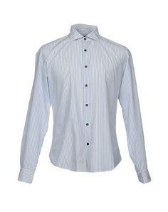 TONELLO Men's Shirt Blue 15 ¾ inches-neck