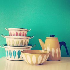 Beautiful retro kitchen equipment