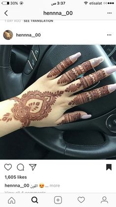 Beautiful and Easy Henna Arabic Mehndi Designs for every occasion - ArtsyCraftsyDad Indian Henna Designs, Mehndi Designs For Fingers, Mehndi Patterns, Wedding Mehndi Designs, Arabic Mehndi Designs, Beautiful Henna Designs, Latest Mehndi Designs, Henna Tattoo Designs, Finger Mehendi Designs
