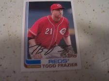 JOHNNY CUETO TODD FRAZIER 2013 Topps Archives Cincinnati Reds (2) Card Lot Mint