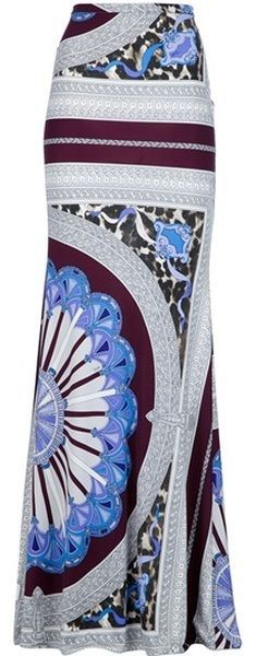 EMILIO PUCCI Maxi Skirt... I like so much
