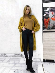 Vlada C. Turtleneck Style, All Jeans, Skinny, Fashion 2017, Sweater Cardigan, Leather Pants, Normcore, Turtle Neck, Street Style