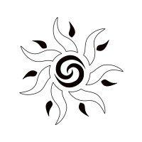 Sun tattoo - Unity, fertility
