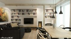 Návrhy obytných prostor - Architekti Praha - Free Architects