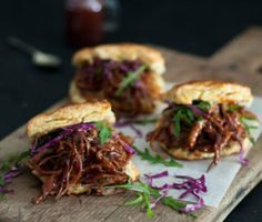 Chipotle Beef Brisket with Cheddar Biscuits