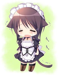 Misaki from Kachiou wa maid Sama kya so cute nya