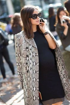 coat and lbd outfit