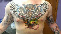 Owl   Gufo    Tattoo